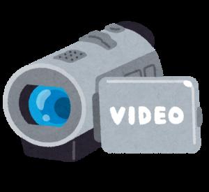 壊れたビデオカメラ回収